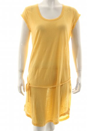 Closed Shirt Dress yellow linen