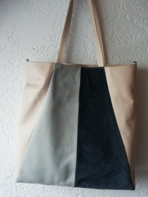 Closed Shopper multicolored leather