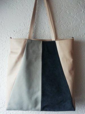 Closed Shopper multicolore cuir