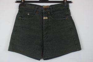 Closed Denim Shorts dark green