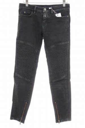 Closed Skinny Jeans anthrazit Washed-Optik