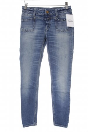 Closed Skinny Jeans blau Destroy-Optik