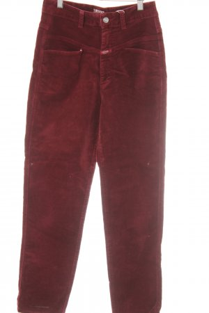 Closed Skinny Jeans bordeaux casual look