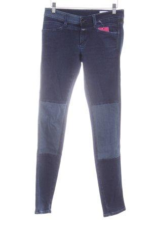 Closed Skinny Jeans dunkelblau-stahlblau Casual-Look