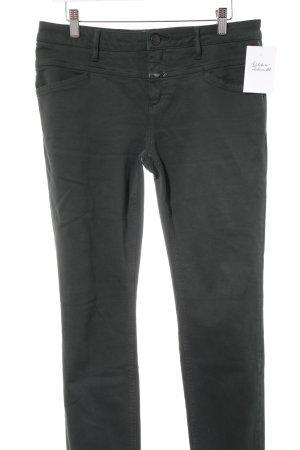 Closed Skinny Jeans dark green casual look