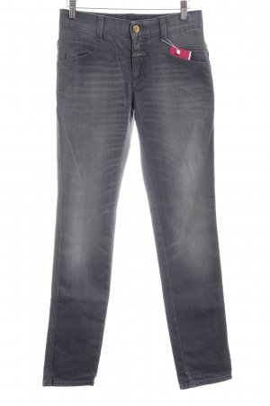 Closed Skinny Jeans grau Casual-Look