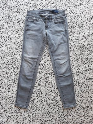 Closed Skinny Jeans grey cotton