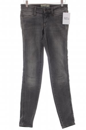 Closed Skinny Jeans grau Used-Optik