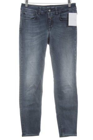 Closed Skinny Jeans graublau-blassblau schlichter Stil