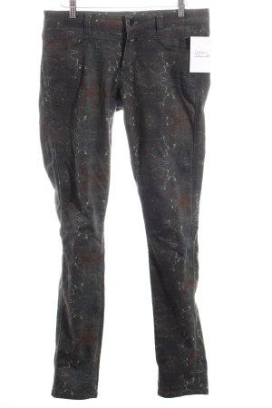 Closed Skinny Jeans grüngrau-braun Farbverlauf Casual-Look
