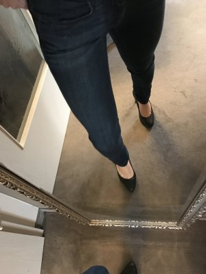 Closed skinny Jeans in used Blau