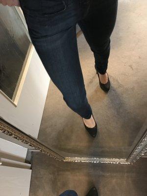 Closed skinny Jeans in used Blau