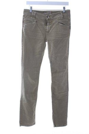 Closed Skinny Jeans khaki Street-Fashion-Look