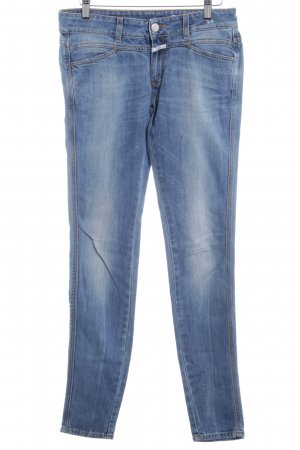 Closed Skinny Jeans cornflower blue casual look