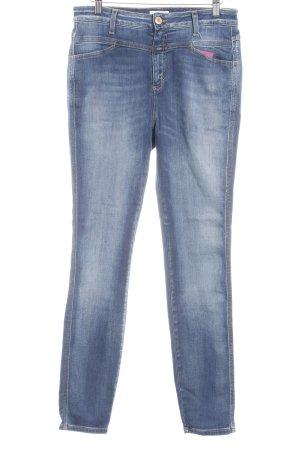 Closed Skinny Jeans kornblumenblau Casual-Look