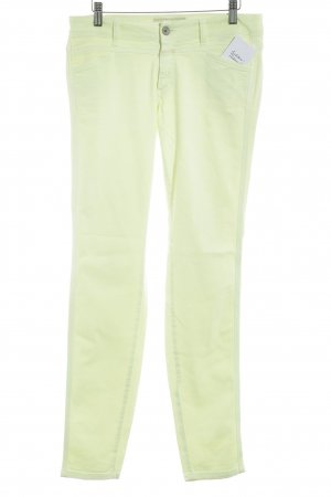 Closed Skinny Jeans neongelb Casual-Look