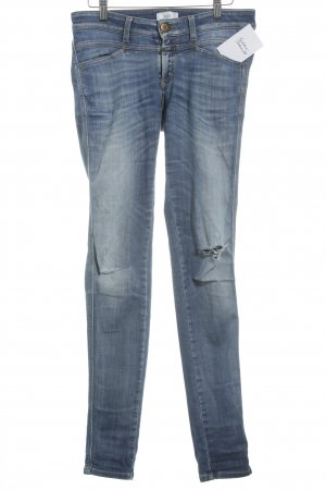 Closed Skinny Jeans blue mixture fibre