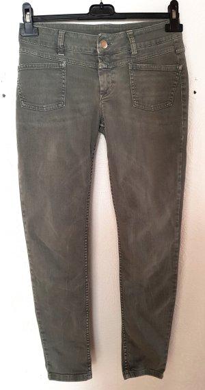 Closed Skinny Jeans Pedal X in Grau W26