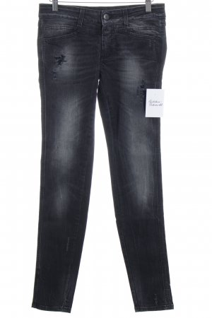 Closed Slim Jeans anthrazit Destroy-Optik