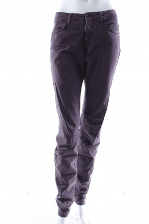 Closed Slim Jeans aubergine