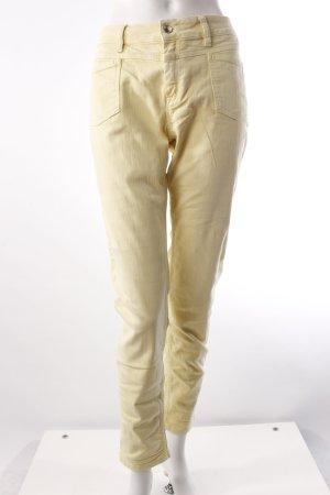 Closed Slim Jeans blassgelb