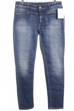 Closed Slim jeans blauw casual uitstraling