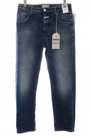 Closed Slim Jeans blau Used-Optik