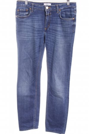 Closed Slim Jeans blau Washed-Optik
