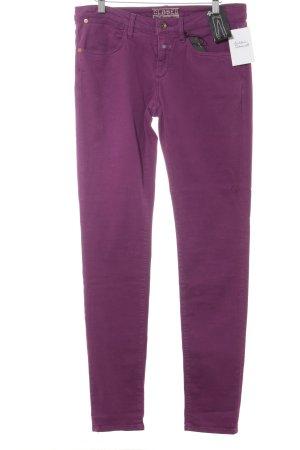 Closed Slim Jeans braunviolett-purpur Casual-Look