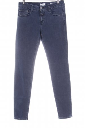 Closed Slim jeans donkerblauw casual uitstraling
