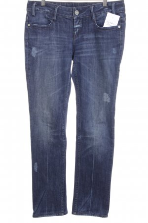 Closed Slim Jeans dunkelblau Destroy-Optik