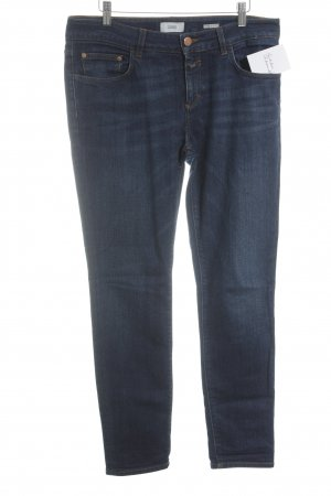Closed Slim Jeans dunkelblau meliert Casual-Look