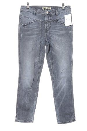 Closed Slim Jeans grau Casual-Look