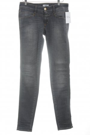 Closed Slim Jeans grey mixture fibre