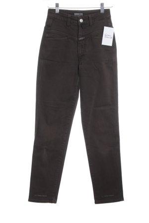 Closed Slim Jeans grüngrau Casual-Look