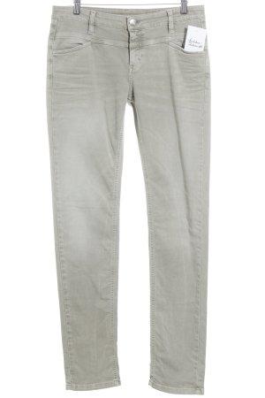 Closed Slim Jeans grüngrau schlichter Stil