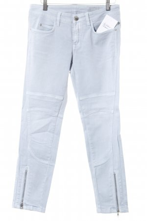 Closed Slim Jeans hellblau Street-Fashion-Look