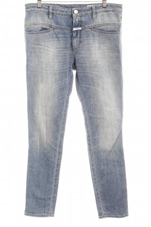 Closed Slim Jeans kornblumenblau-blassblau Casual-Look