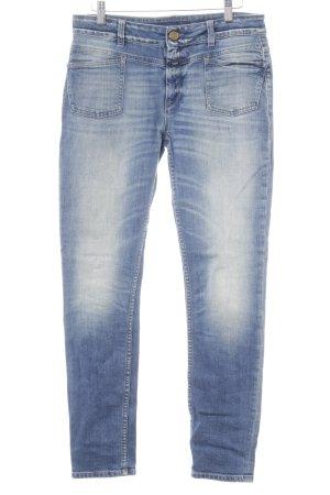Closed Slim Jeans kornblumenblau Casual-Look