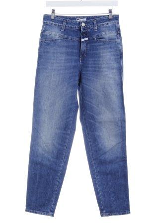 Closed Slim Jeans kornblumenblau-stahlblau Casual-Look
