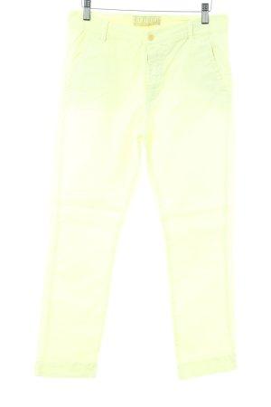 Closed Slim Jeans neongelb Casual-Look