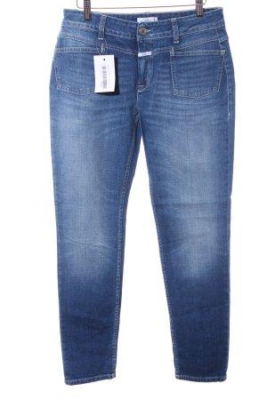 Closed Slim Jeans stahlblau Casual-Look