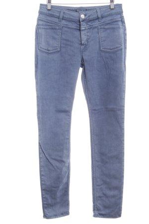 Closed Slim Jeans stahlblau meliert Casual-Look