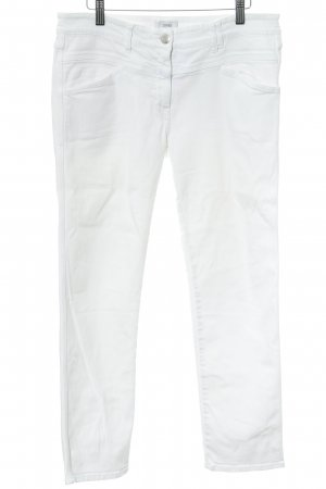 Closed Slim Jeans weiß Marine-Look