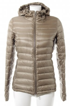 Closed Steppjacke graubraun Steppmuster Casual-Look