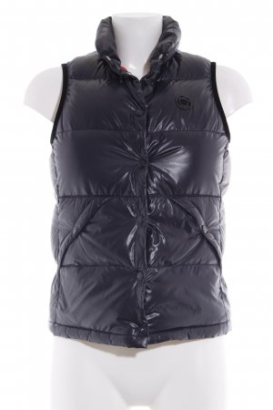 Closed Quilted Gilet dark blue casual look