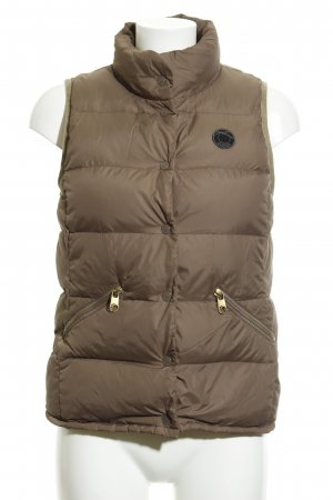 Closed Quilted Gilet light brown casual look
