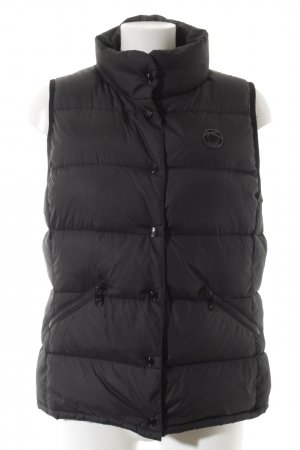 Closed Quilted Gilet black-lilac