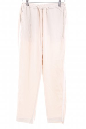 Closed Stoffhose creme-weiß Streifenmuster Casual-Look