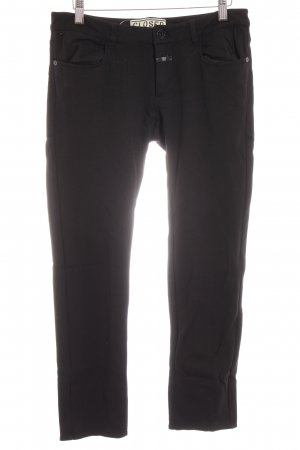 Closed Stoffhose schwarz Casual-Look